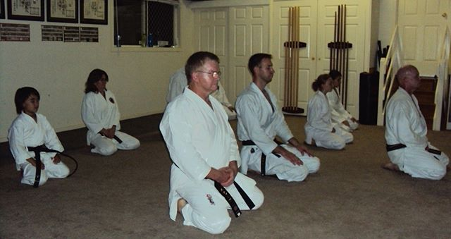Karate-ka in seiza during training session at Gold Coast Dojo in 2012 ⠀⠀⠀⠀⠀⠀⠀⠀⠀ ⠀⠀⠀⠀⠀⠀⠀⠀⠀ #karatelife #karatelifestyle #karatetraining #karatebudo #shotokan #shotokankarate #shotokankaratedo #traditionalkarate #karate #karatedo #karateka