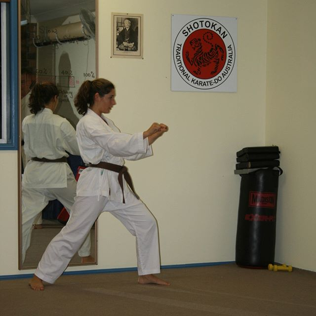 Leonne training at Gold Coast Dojo in 2012⠀⠀⠀⠀⠀⠀⠀⠀⠀ ⠀⠀⠀⠀⠀⠀⠀⠀⠀ #karatelife #karatelifestyle #karatetraining #karatetechniques #karatetechniques #shotokan #shotokankarate #shotokankaratedo #traditionalkarate #karate #karatedo #karateka