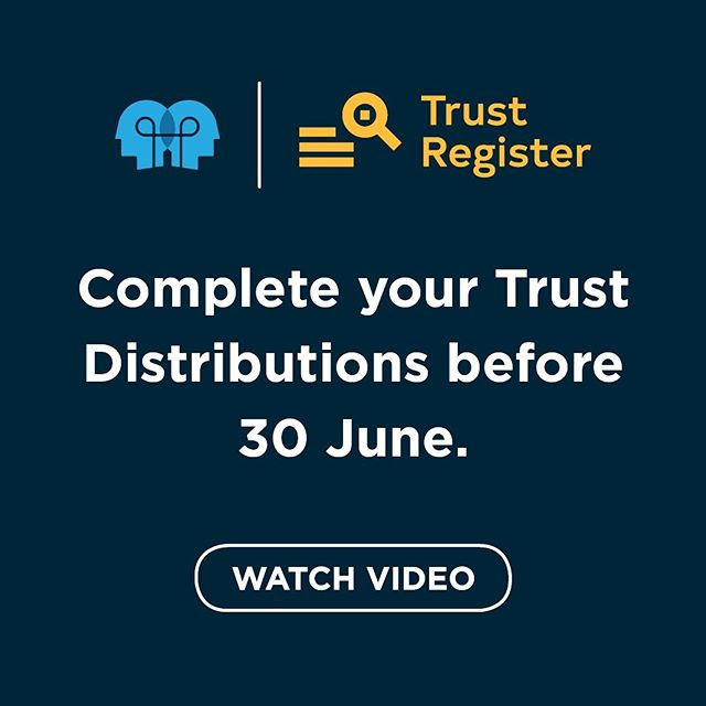 Have you done your Trust Distributions?  Watch our latest video to find out how easy it is with NowInfinity's Trust Register!  Link in bio.  Want to find out more? Email: ben@nowinfinity.com.au