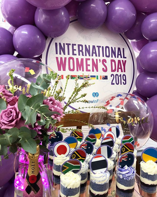 @nowinfinityau celebrating #internationalwomensday in the office today! Have a great day everyone