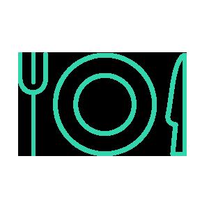 Voedselverpakkingen (servies, bestek, servetten, ijswikkels, kleinverpakkingen)