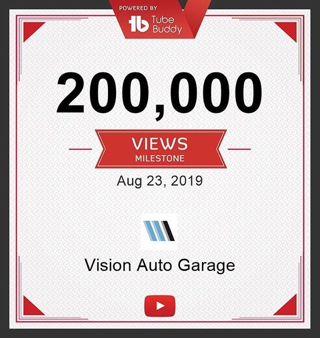 200,000 views! What a milestone! Thank you!