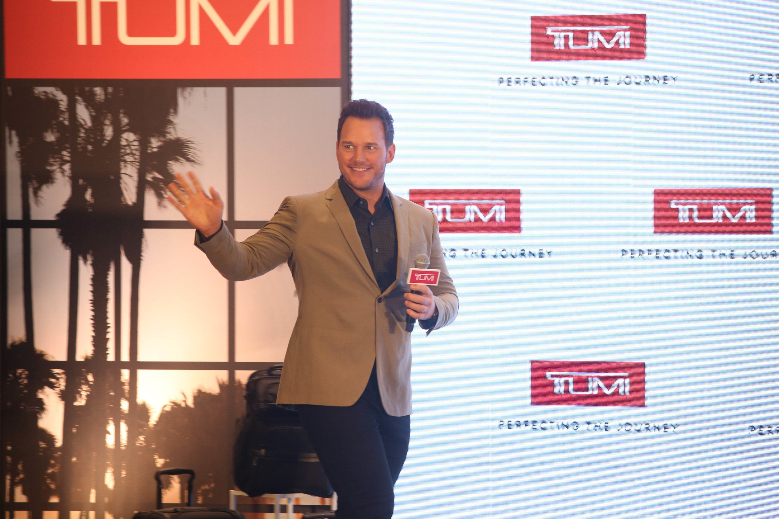 TUMI x CHRIS PRATT Launch at TUMI Loft -