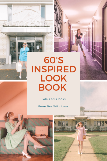 60's inspired look book