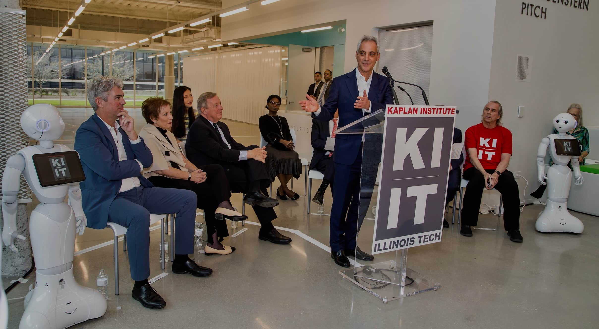 - JT partnered with the Illinois Institute of Technology to maximize media attention for the grand opening of its first new academic building in nearly 40 years.