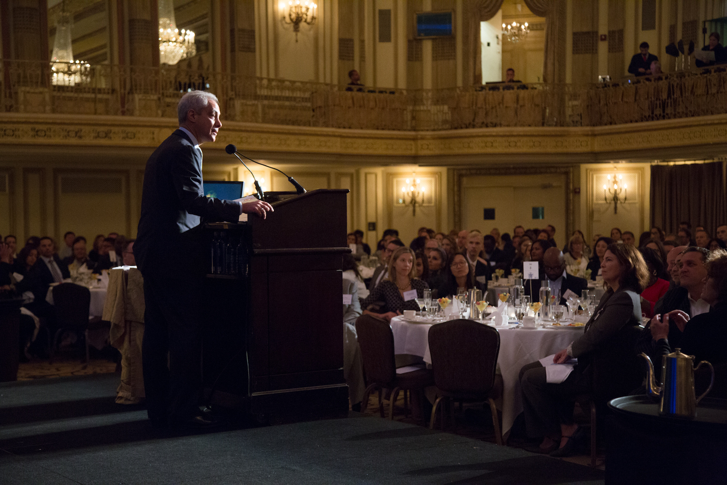 - Chicago business, community and workforce development leaders joined honorary co-chairs Mayor Rahm Emanuel and Penny Pritzker to celebrate Skills for Chicagoland's Future's (Skills) employer and community partners at its third annual Employment Champions Breakfast.