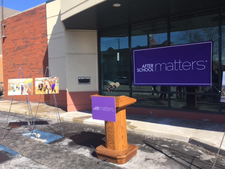 - Mayor Emanuel announces donation for JT client, After School Matters.