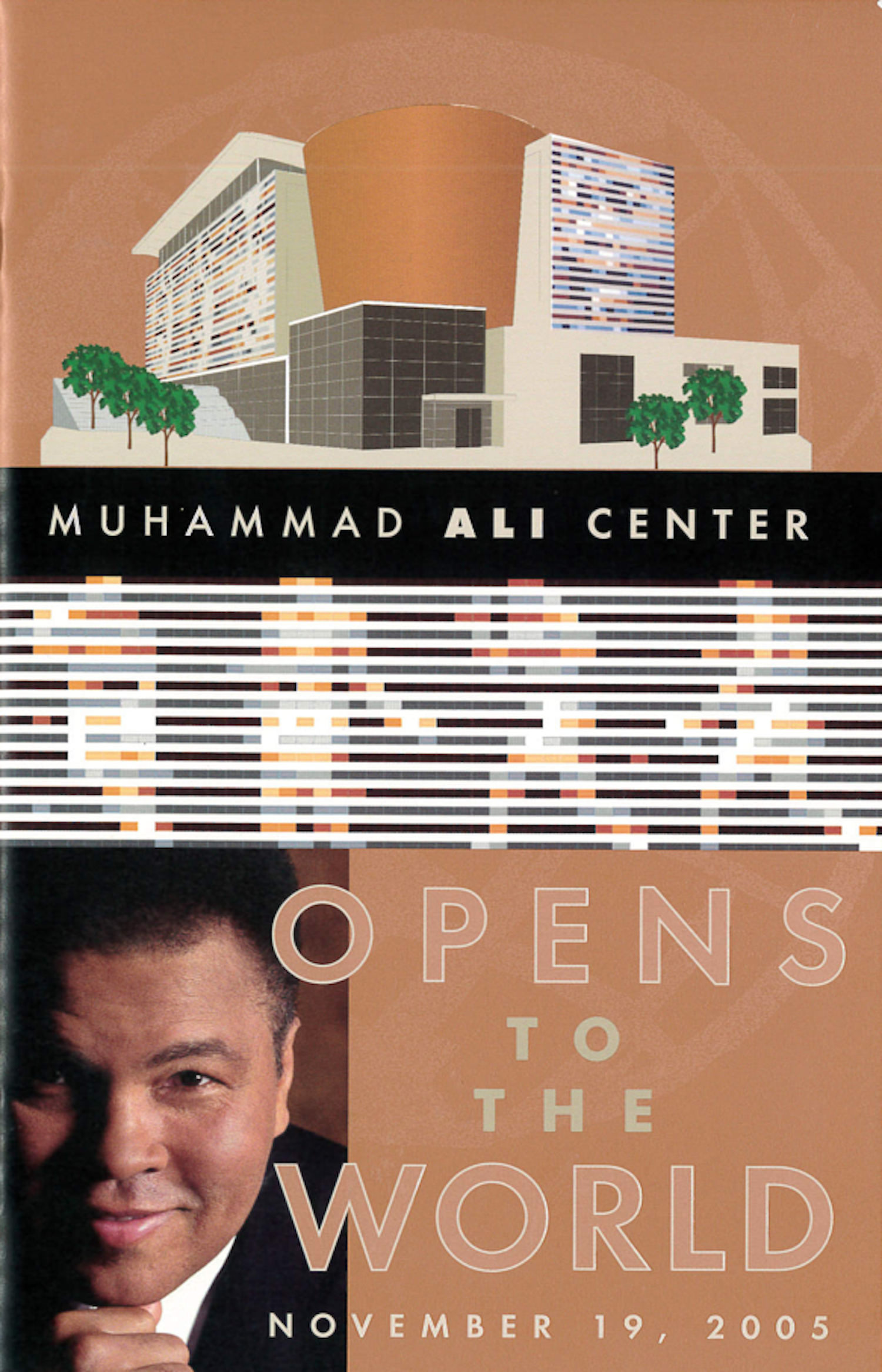 - In 2005, JT was retained by the Muhammad Ali Center to provide media outreach and logistics services to support the grand opening of the Center.