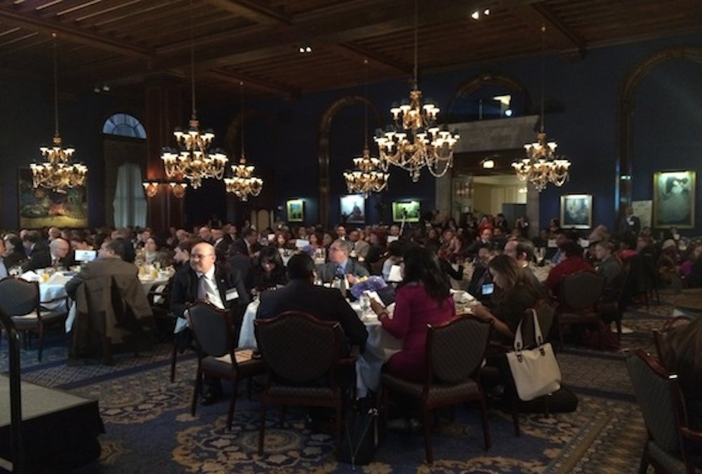 "- JT-managed ""Latinos On The Move"" breakfast a smashing success."