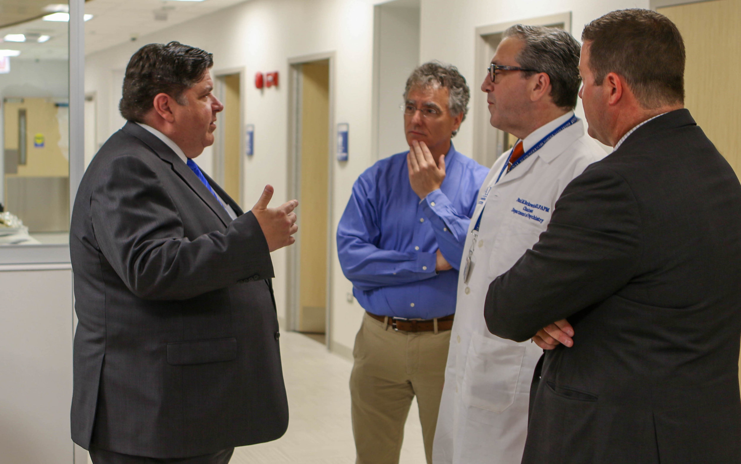 - JT assists longtime client Sinai Health System with the ribbon cutting for its Crisis Stabilization Unit (CSU)