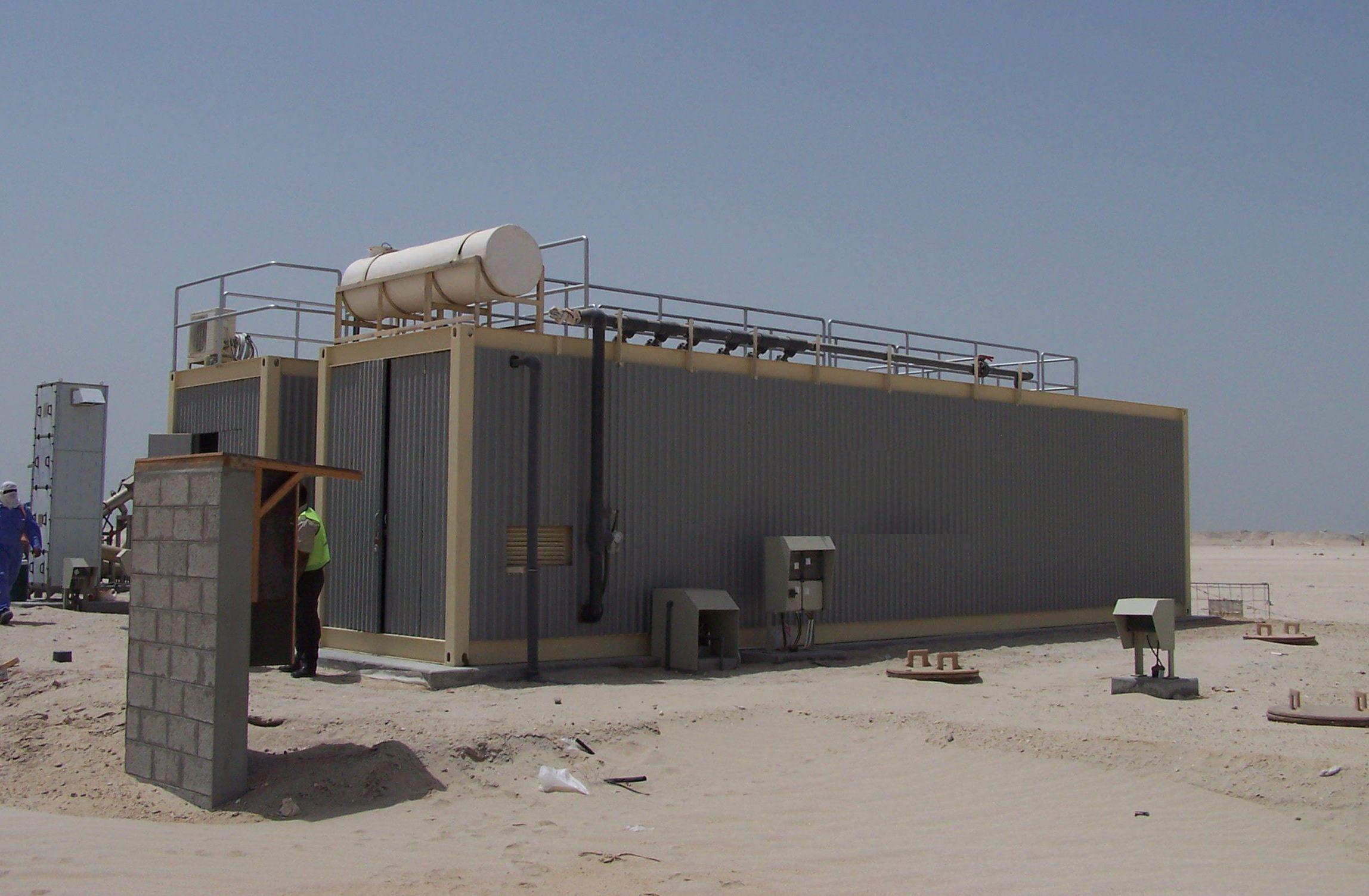 Kommunale- und Containerkläranlagen machen mit  AQQA®  aus Abwasser Badewasserqualität.  Mehr…