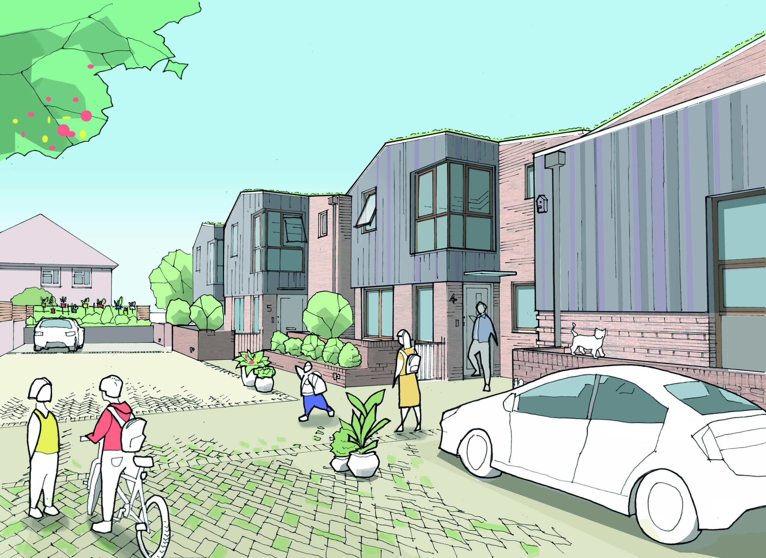 Bleneim Drive Project KC+A Architects, Wickham, Buildvantage