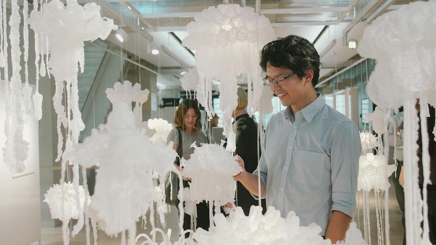 Penelope Davis, Sea-change exhibition at Arup Gallery Sydney. Curator: Soda Arts