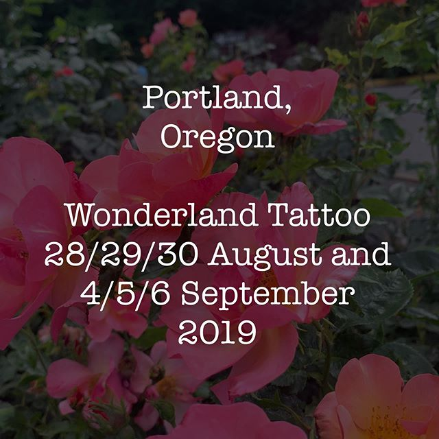 Excited to announce I'm coming back to Portland this trip and I'll be tattooing at @wonderlandpdx again ♥️ If you had already emailed when I initially opened my books and these dates work for you too please just re-send your email ♥️ If you have a new request please send me • Your name, contact info, idea, placement photo (important) and any reference material.  As before handspan size/ARMS & LEGS only. No cover ups. Fruit/Floral/Botanical pieces are top of my wanna do's  Email is  makkalarose@gmail.com  Please make sure your subject line says Portland ♥️
