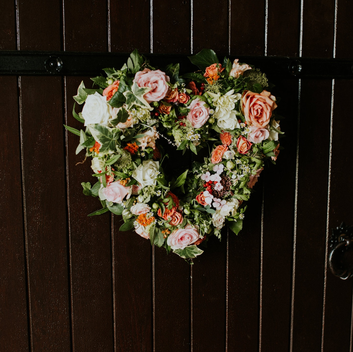 Image by  Sophie Collins Photography .  Flowers by me.
