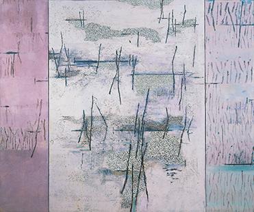 Marsh Triptych  2001-04, 168 x 200 cm