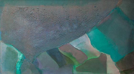Valley  1972, 49 x 84 cm