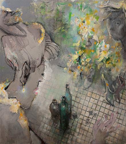 A Matter Of Choice  2014-19, 122 x 122 cm