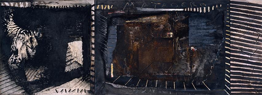 Matadero Municipal Triptych  1983-1993, 152 x 416 cm