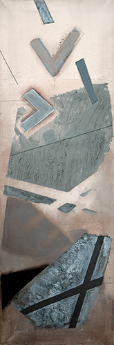 Formation I  1997-8, 153 x 51 cm