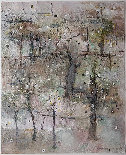 Autumn Trees  2013-2016, 49 x 29 cm