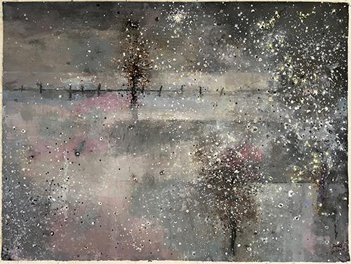 Silent Winter  2017-18, 41 x 57 cm
