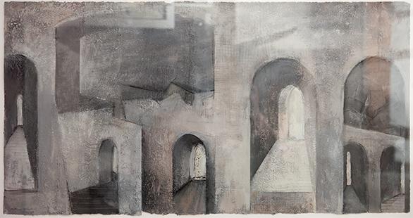 Archscape  1996-2007, 52 x 102 cm