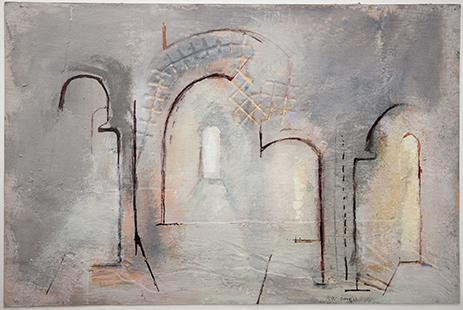Interior  2009-13, 30 x 45 cm