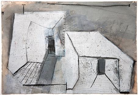 Two Exits  2006, 34 x 51 cm