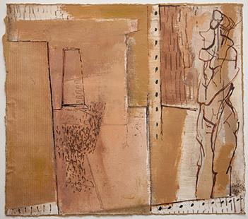 Empty Studio With Model  1996, 27 x 29 cm