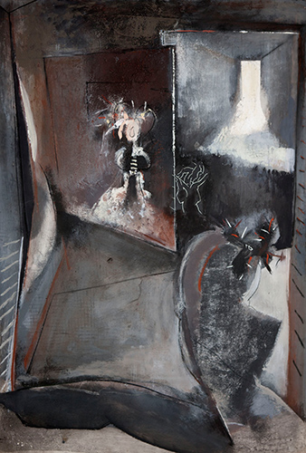 Painting The Infanta  1987-91, 114 x 83 cm