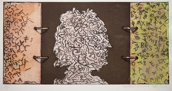 Memory Bank  1997-2004, 17 x 35 cm, hand tinted digital print