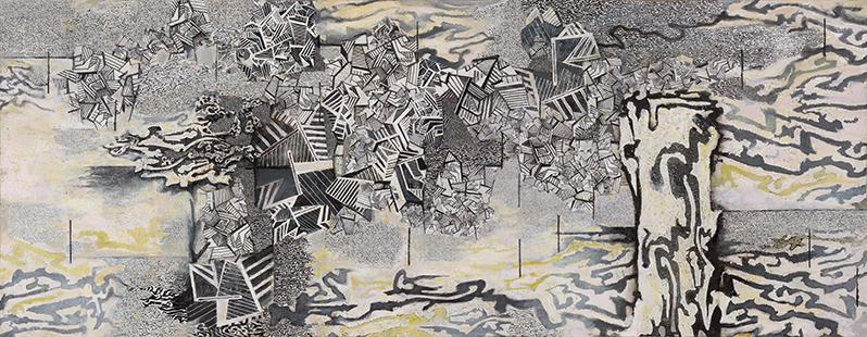 WEIR TRIPTYCH 168 x 280 cms 2001-2