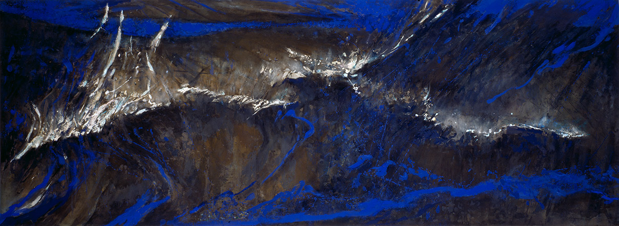 Night Sea  1986-7, 168 x 457 cm