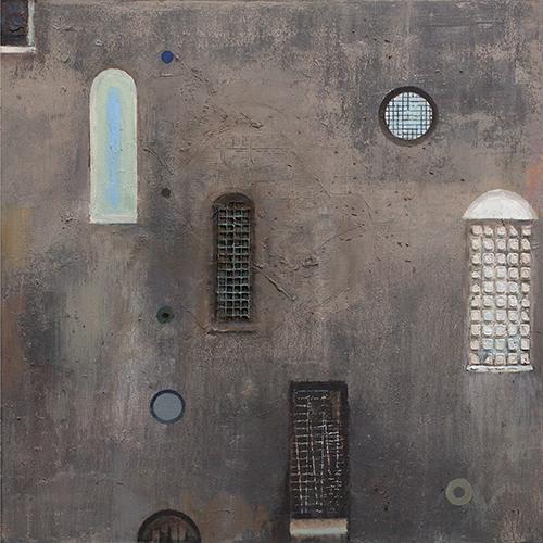 Façade  2003-16, 92 x 92 cm