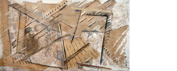RE-APPEARANCE II 41 x 123 cms 1998-9