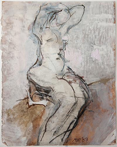Stretching  2003, 23 x 18 cm