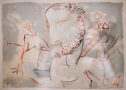 Judgement of Paris  2005, 19 x 28 cm