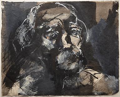 Peter  1985-7, 24 x 29 cm