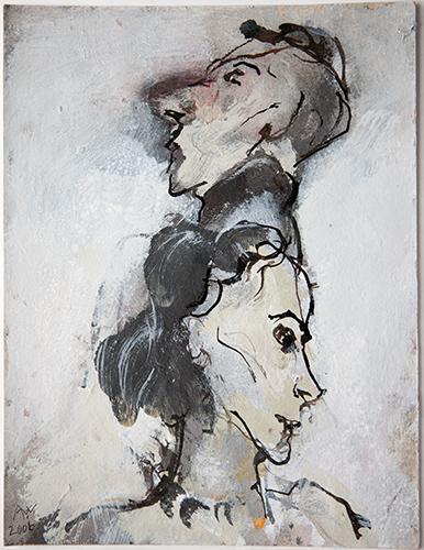 Blind Date Couple  2001-6, 25 x 19 cm