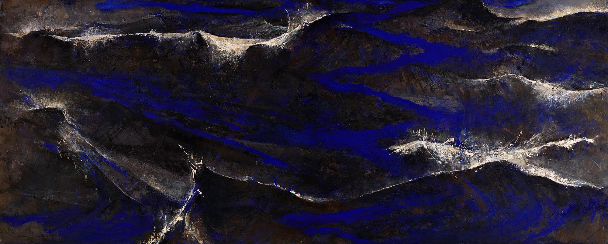 51°15' N2°18' E  1987-89, 173 x 427 cm