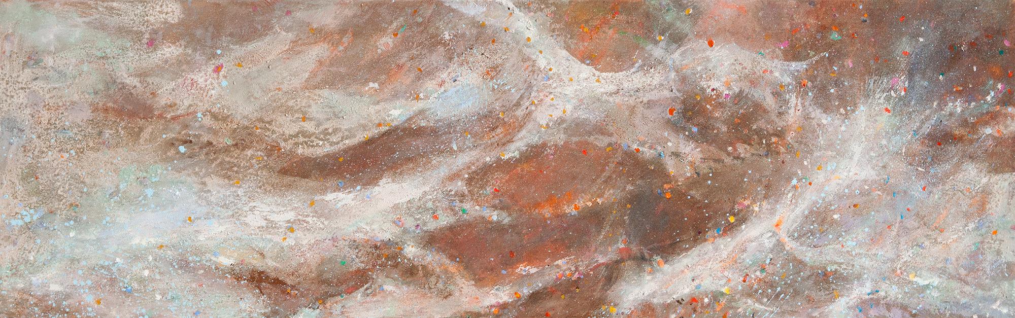 Torrent  1982-17, 48 x 152 cm