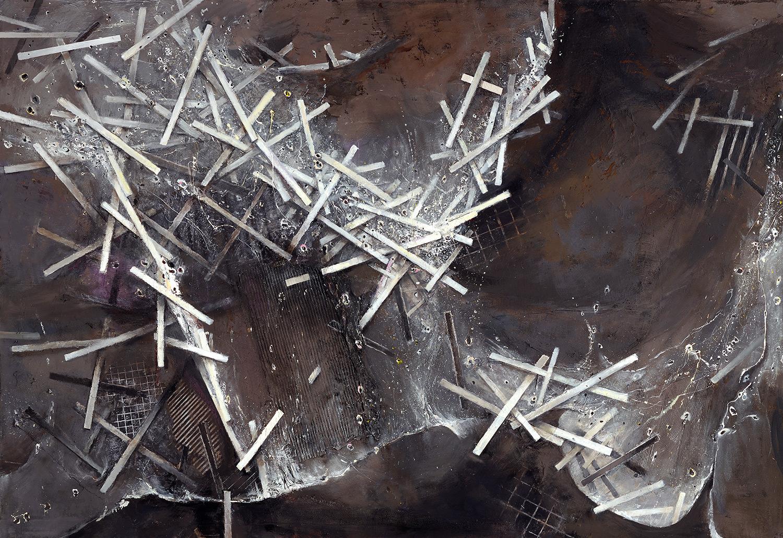 Tidal Surge II  2007-08, 168 x 243 cm