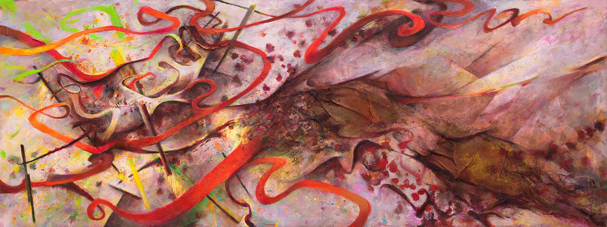 Tidal Surge III  2010-15, 168 x 457 cm