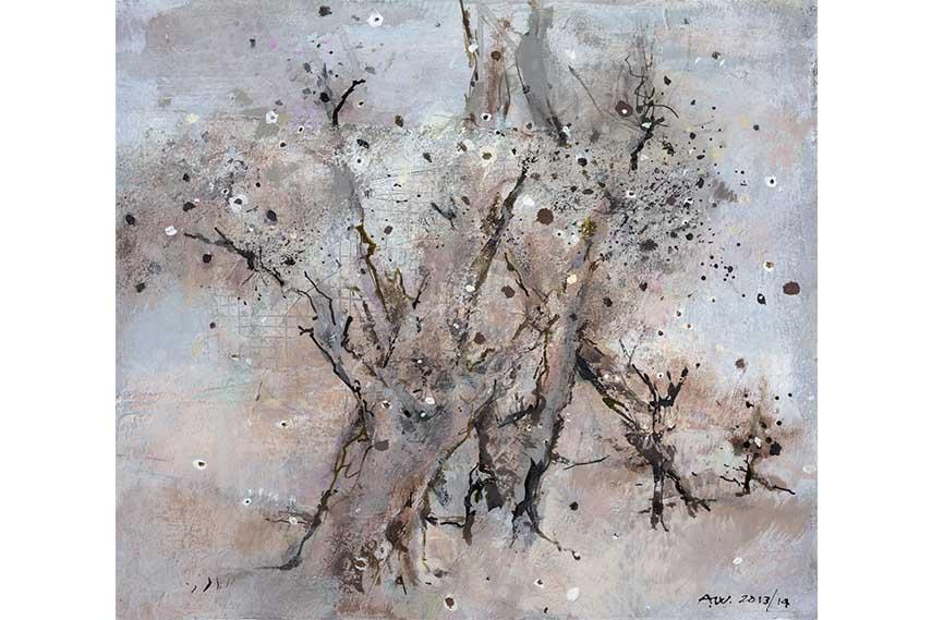 Treeness I  2013-14, 43 x 50 cm