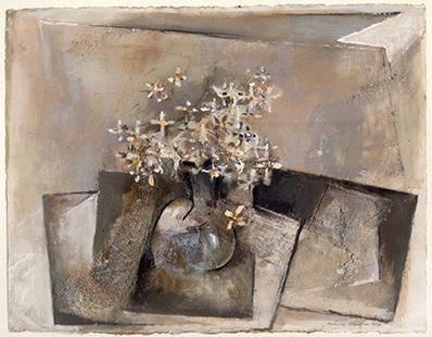 Bowl of Flowers  1991-93, 50 x 60 cm