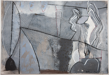 Two Personalities  1987-1993, 34 x 51 cm