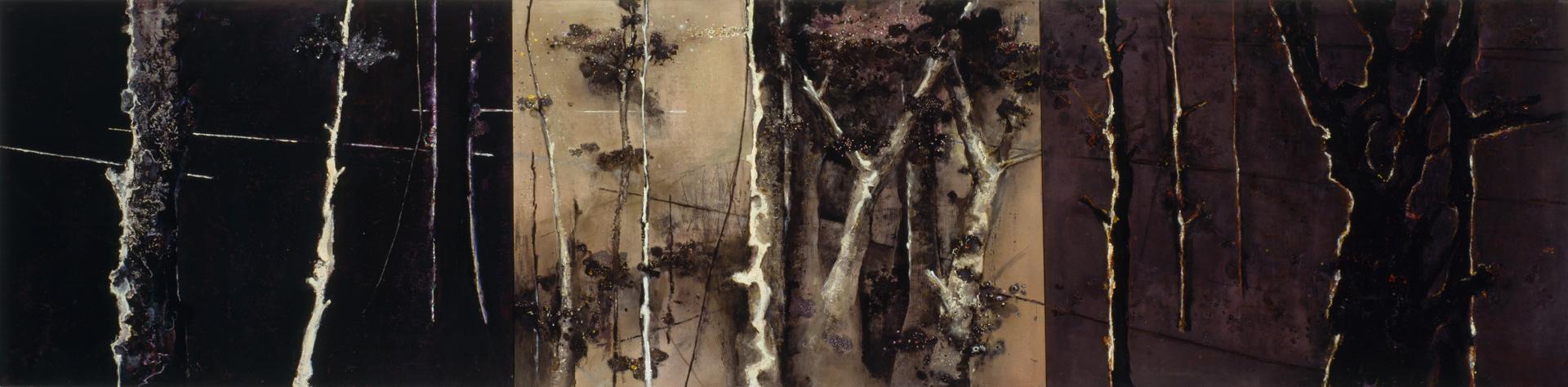 Lyminge Forest III 1983-1999,168 x 685 cm