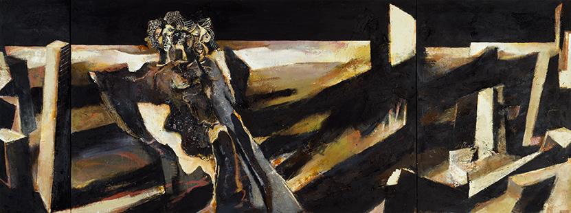 Bujalcayado II (Reverie) 1989-1992, 168 x 447 cm
