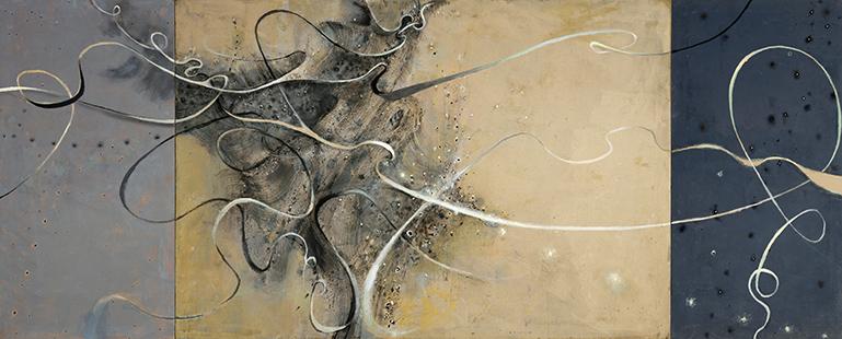 Tubulence  2001-6, 173 x 414 cm